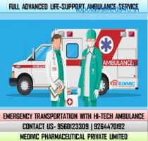 Use Perfect Medivic Ambulance Service in Gandhi Maidan, Patna