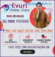 Full Time Part Time Home Based Data Entry Work