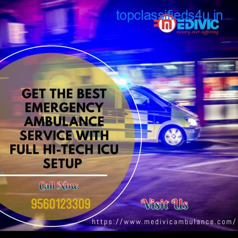 Incomparable ICU Ambulance Service in Delhi by Medivic