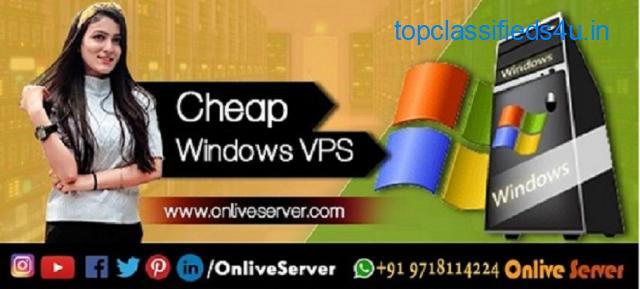 Get Windows VPS Hosting control by  Onlive Server