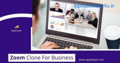 Zoom Clone for Business: Make business meetings run seamlessly