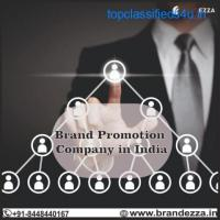 We are best for Brand promotion service in India