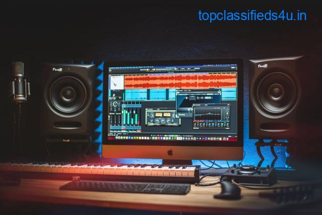 The Fluid Audio FX 80 Coaxial Studio Monitor