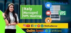 Get Finest Italy Managed VPS Hosting with Onlive Server