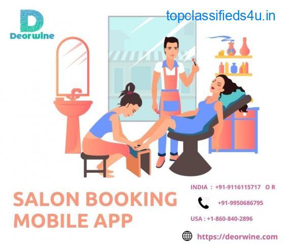 Salon Booking Mobile App   Beauty Salon Mobile App Development