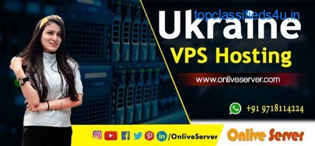 Get unlimited bandwidth with Ukraine VPS Hosting by Onlive Server