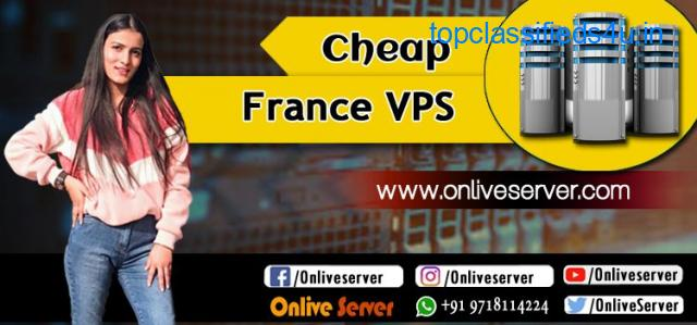 Buy Cheap VPS France With High Speed Performance By Onlive Server
