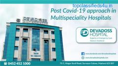 Corona safety measures by Devadoss Multispeciality Hospital