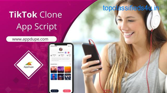 Become the king of the digital world with the TikTok Clone App