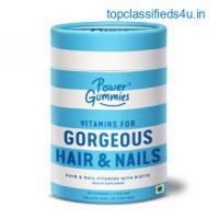 Power Gummies – Gorgeous Hair & Nails Vitamin Gummies