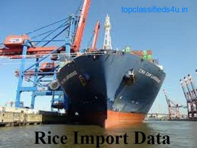 Rice Import Data India- To find Top Rice Importers in India