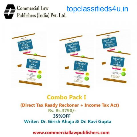 Combo Pack I (Direct Tax Ready Reckoner + Income Tax Act)