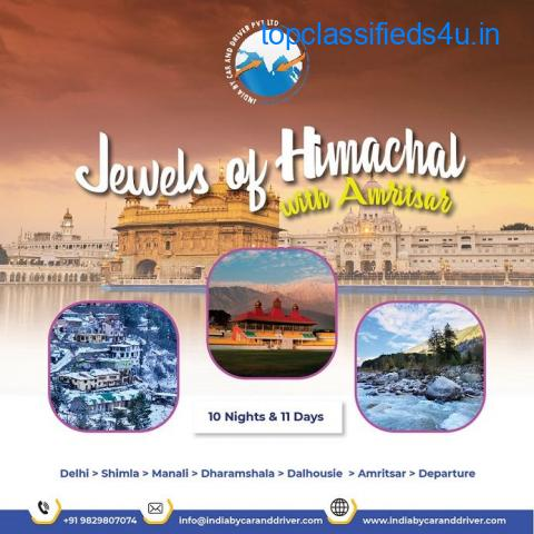 JEWELS OF HIMACHAL WITH AMRITSAR TOUR PACKAGE