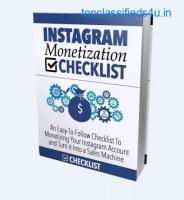 Instagram Monetization Checklist