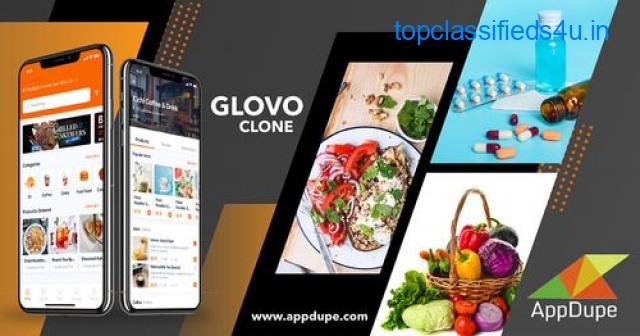 Get a fully-functional Glovo Clone App