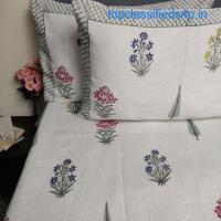 Quilted Bedspreads Online - Jaipur Mela