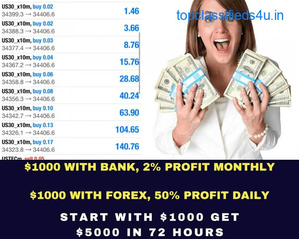 TURN YOUR $300 TO $3000 IN 5 DAYS