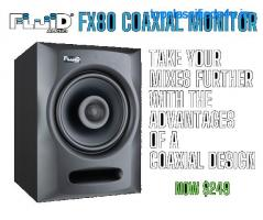 Fluid Audio FX 80 - Coaxial Monitor