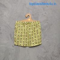 Buy Cotton Half Pants for Ladies - Jaipur Mela