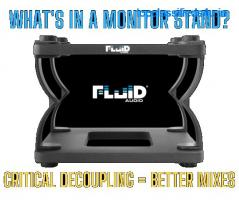 Fluid Audio's DS5 and DS8 Monitor Stands