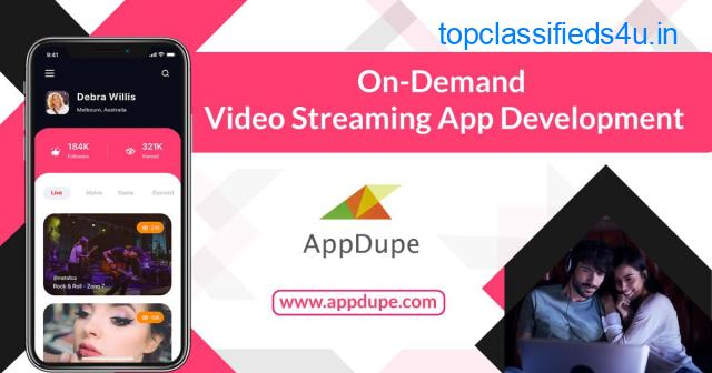 Entertain users to the maximum by developing an On-Demand  Video Streaming App Solution