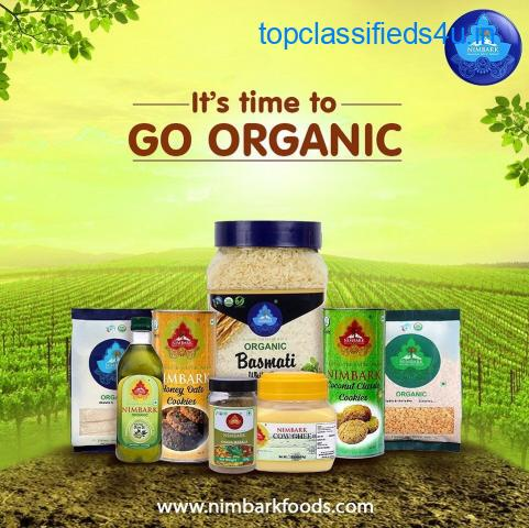 High-quality organic food products brand