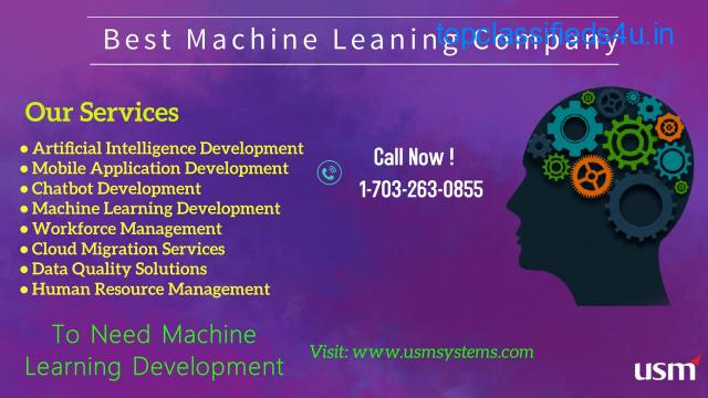 machine learning applications in USA