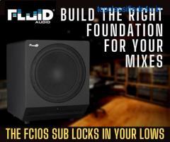 The Fluid Audio's FC10S Subwoofer