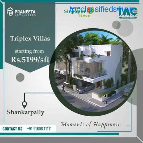 4BHK villas near shankarpally hyderabad   Tag Projects