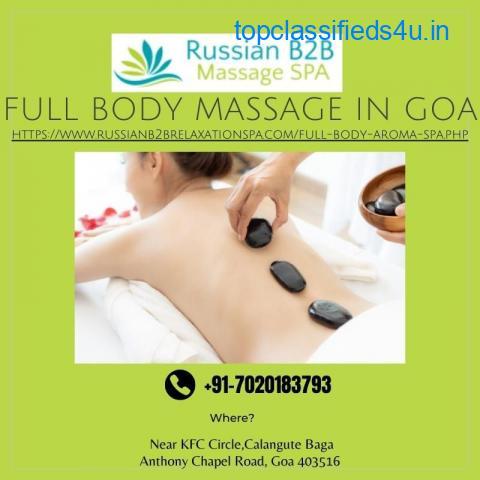 Book the Best Full Body Massage in Goa