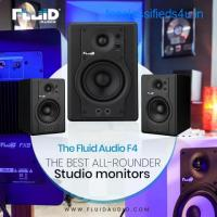 The Fluid Audio F4- The Best All Rounder Studio Monitor