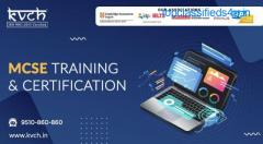 Get the best MCSE training and certification| KVCH