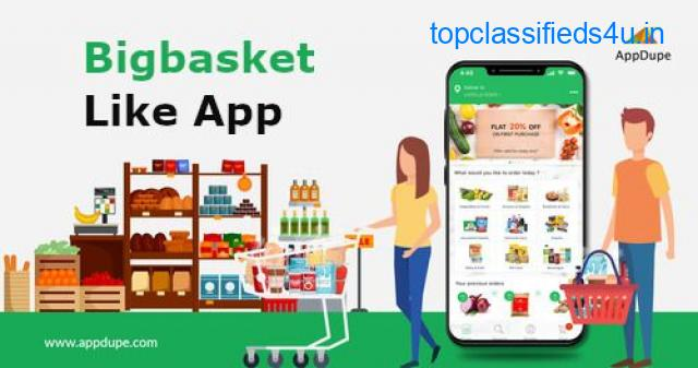 Contact US to get the BigBasket Clone App