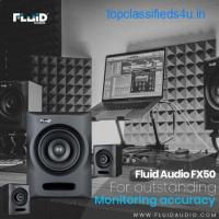 Fluid Audio FX 50 For Outstanding Monitoring Accuracy