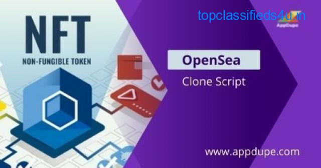 Build your own NFT Marketplace with OpenSea Clone Software