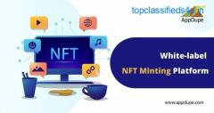 Get the white label NFT Minting Software and turn rich in no time