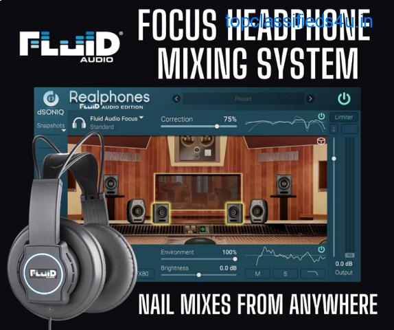 Focus Headphone Mixing System - Nail Mixes From Anywhere