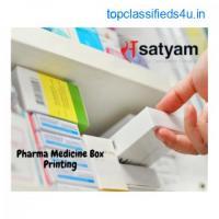 Pharma Medicine Box Printing