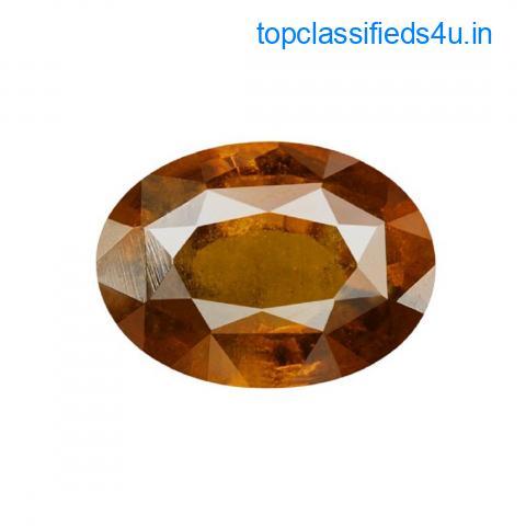 Hessonite Garnet Stone - Zodiac Gems