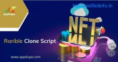 Get a Rarible Clone Script and charm artists and investors