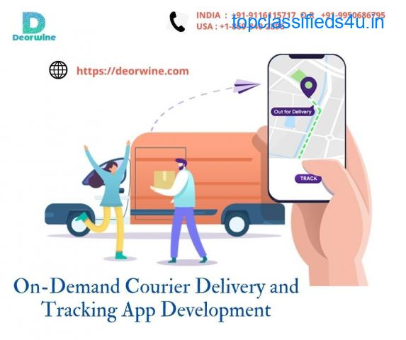 On-Demand Courier Delivery and Tracking App Development