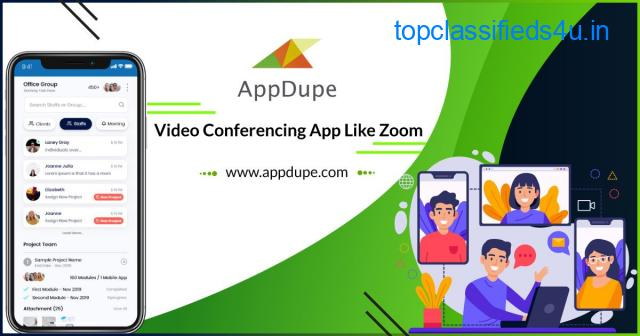 Enter The Video Conferencing Market With A Well-developed Zoom Clone