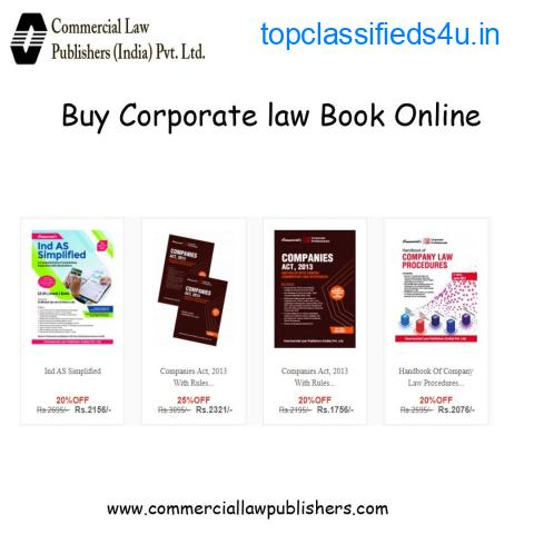 Buy Corporate law Books online
