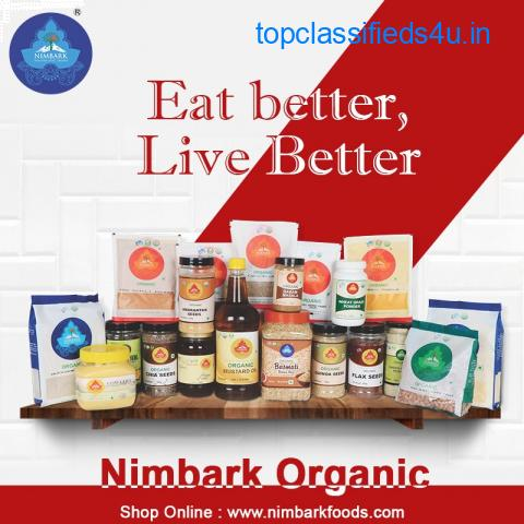 Best Organic food Products Brand in India  Nimbark foods