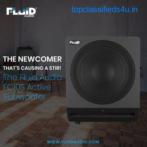 The FCS10 Active Subwoofer from Fluid Audio