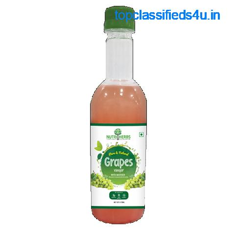 Buy Natural Grapes Cider Vinegar for Healthy Hair