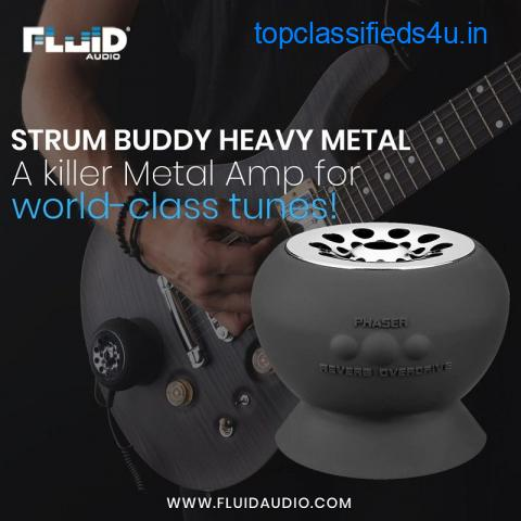 The Fluid Audio Strum Buddy Heavy Metal