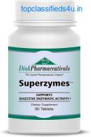 Superzymes, Formulated with Betaine, Pepsin, Bromelain, Ox Bile, Pancreatin (Amylase, Protease,