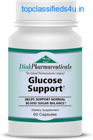Glucose Support - Herbal Supplements, Vitamin & Minerals for Blood Sugar Control