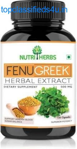 Best Fenugreek Capsules for Healthy Skin